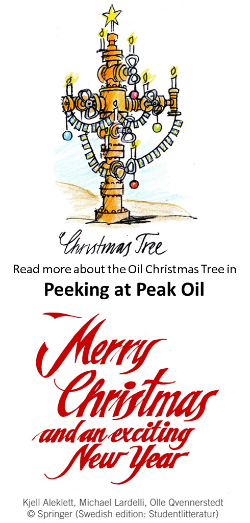 Merry Christmas and New Peak Oil Year 2